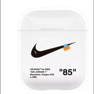 Off-white inspired AirPods cover/case